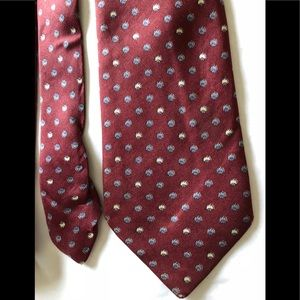 Gucci designer vintage silk tie